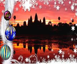 Tourism Cambodia Christmas and a great New Year 2015